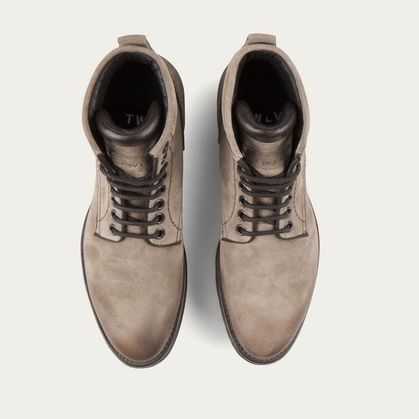 Sand Royal Suede Leather Logger Boots   Bombinate