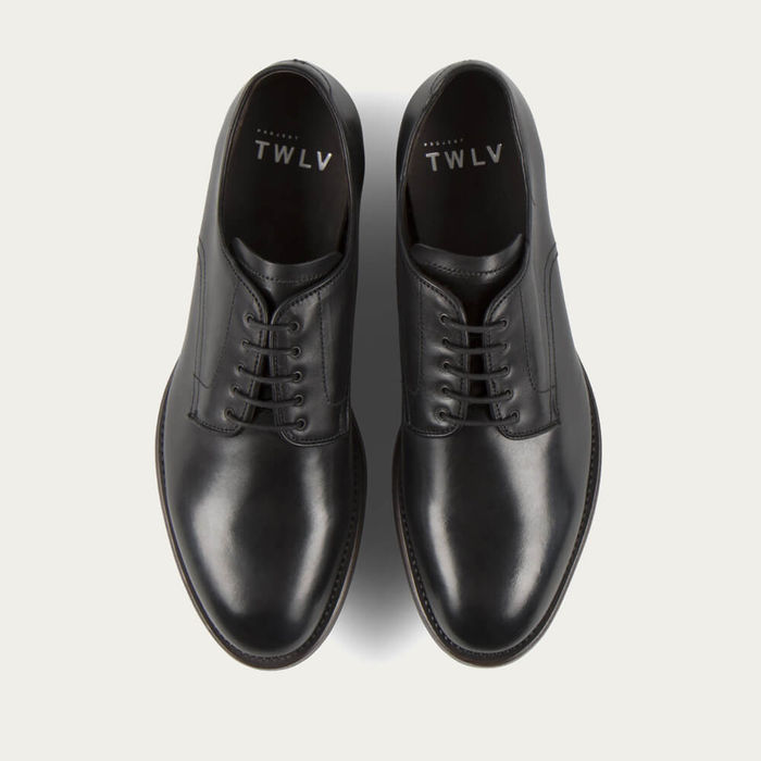 Black Daze Cordovan Leather Shoes   Bombinate