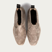 Sand Jay Suede Chelsea Leather Boots | Bombinate