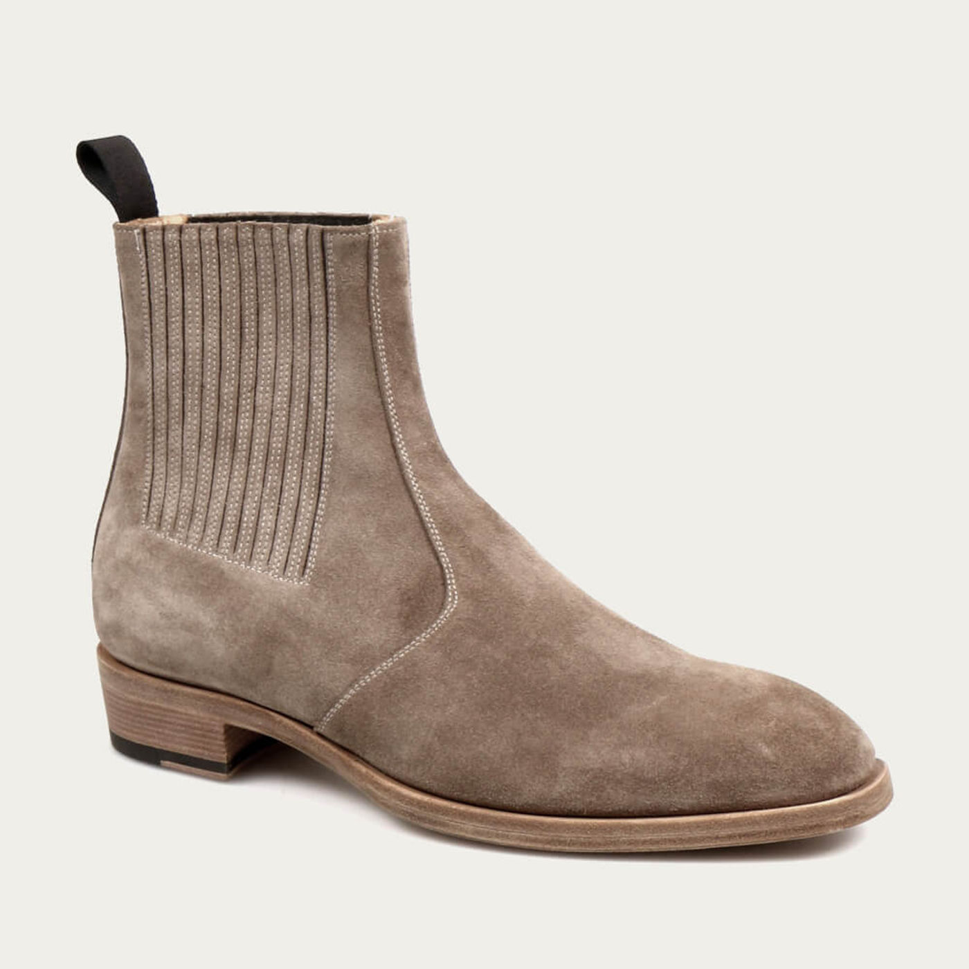 Sand Jay Suede Chelsea Leather Boots   Bombinate