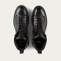 Black Nexx Vegetable Tanned Balmoral Leather Boots | Bombinate