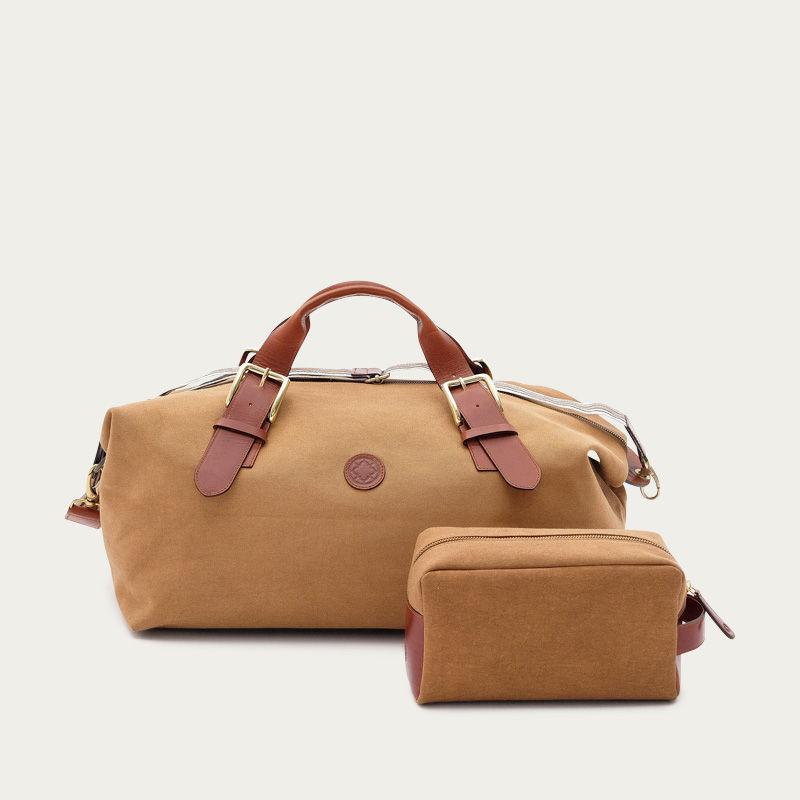 Mustard Mick Duffle Bag    | Bombinate