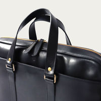 Black Carter Briefcase  | Bombinate