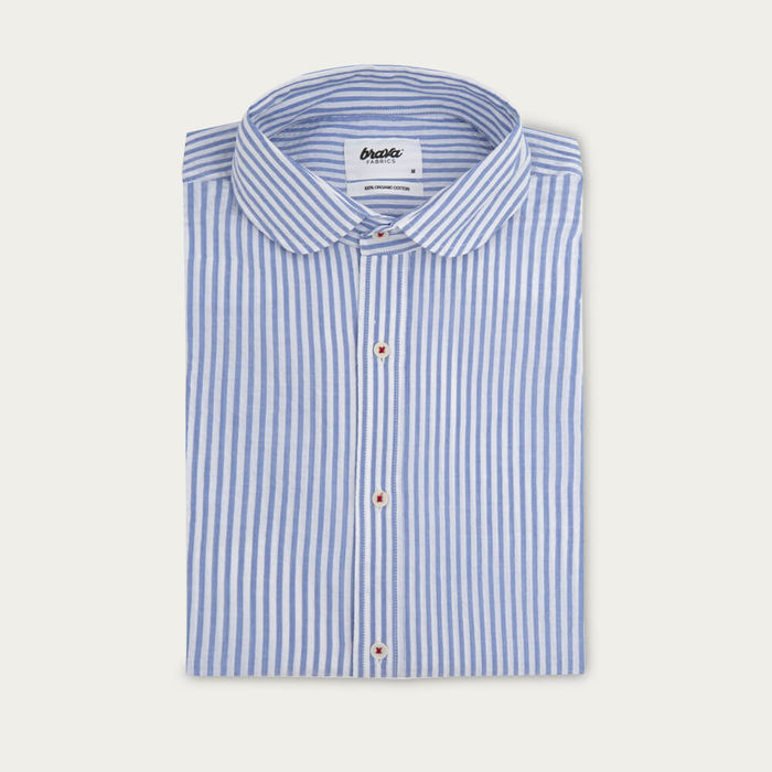 Blue Sakuraya Tea Essential Shirt | Bombinate