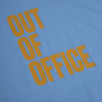 Blue Out of Office T-Shirt | Bombinate