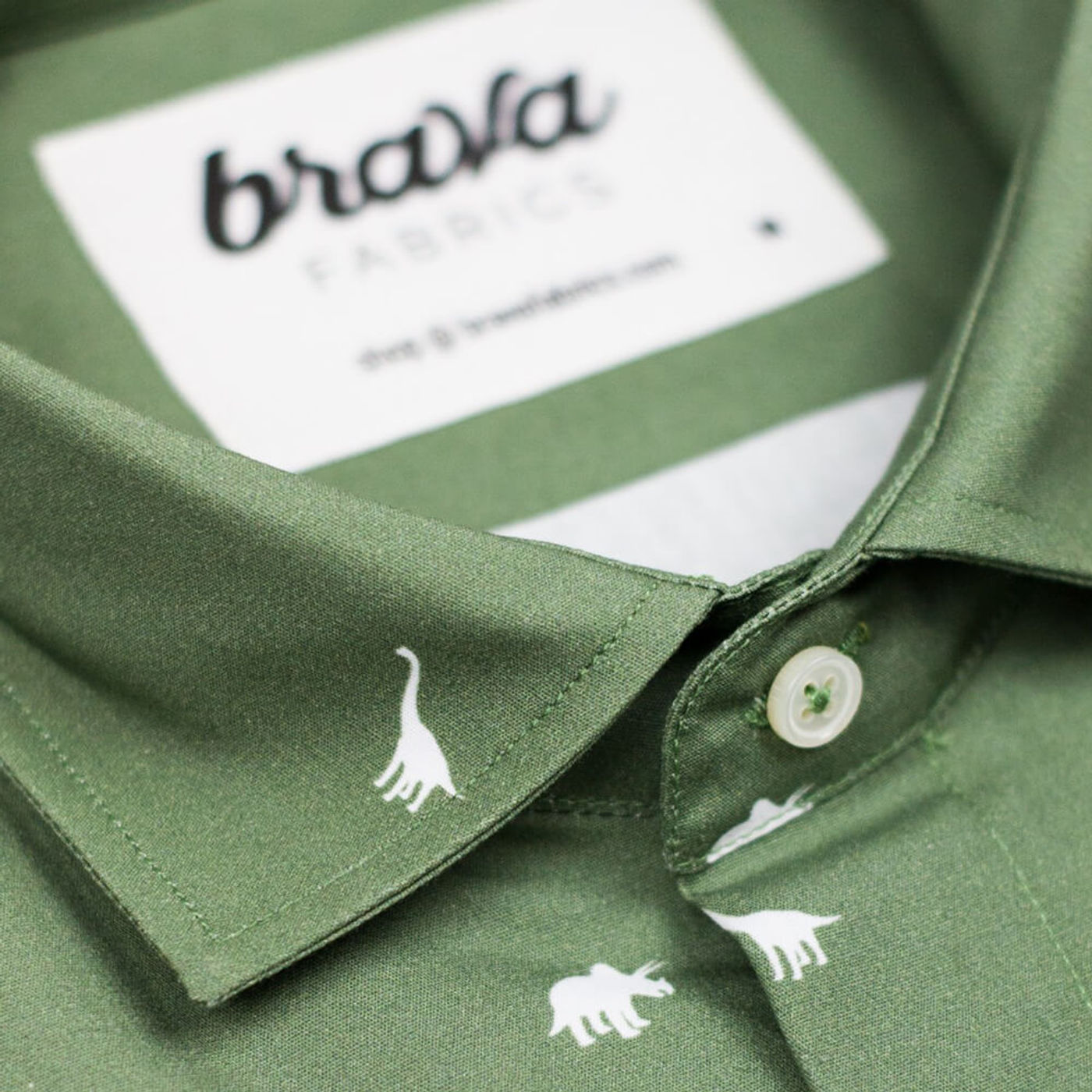 Green Jurassic Adventure Printed Shirt | Bombinate