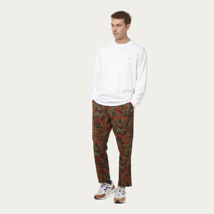 White Hayden Long Sleeve T-Shirt | Bombinate