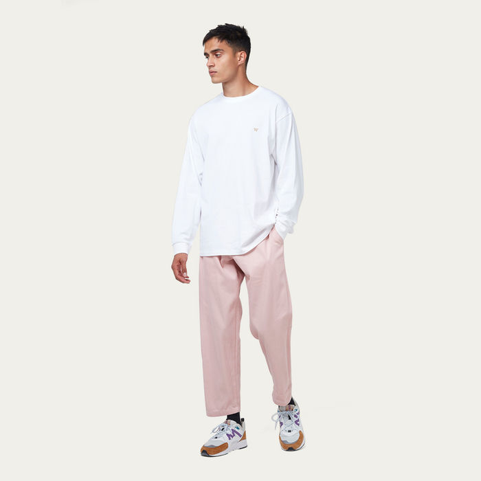 Pink Heavy Denim Kurt Trouser | Bombinate