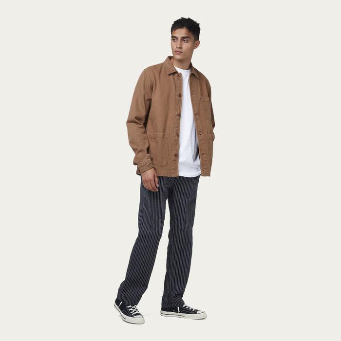 Brown Heavy Denim Chet Overshirt | Bombinate