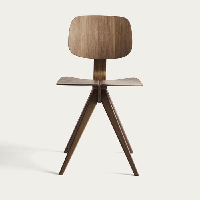 Natural Walnut Mosquito Chair   Bombinate