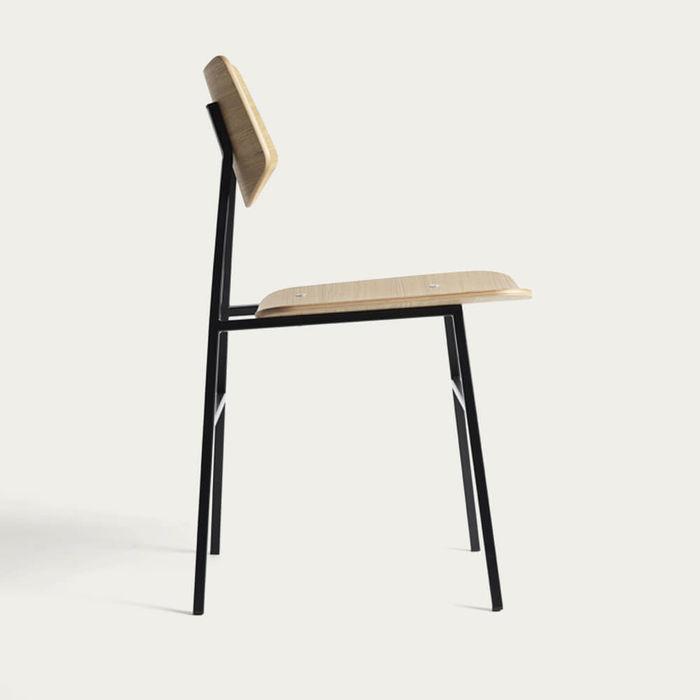 Natural Oak 1960 Chair | Bombinate