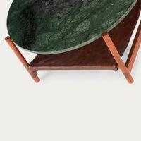 1.02 Green Circular Coffee Table  | Bombinate