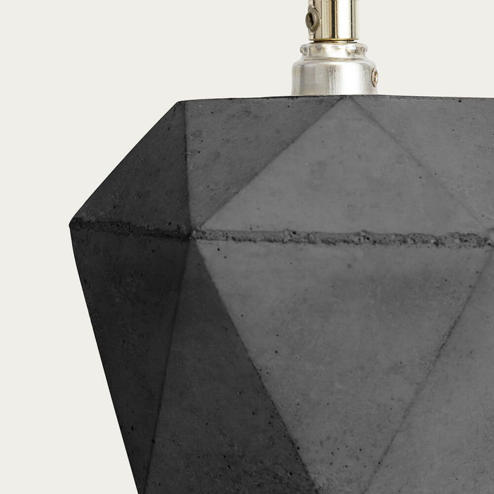 Dark Grey Up Floor Light Triangle | Bombinate
