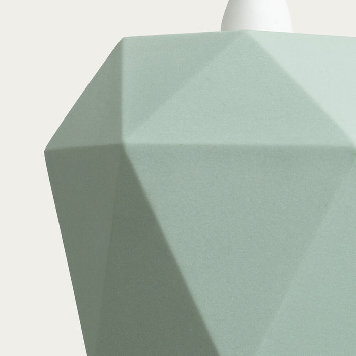 Mint Porcelain Pendant Light Triangle | Bombinate
