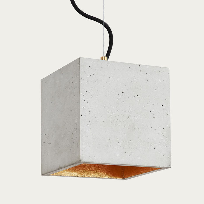 Graphite Grey Pendant Light Cubic Big | Bombinate
