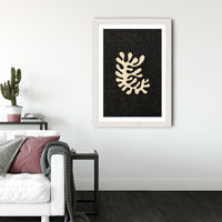 Ode to Henri Art Print White Frame | Bombinate