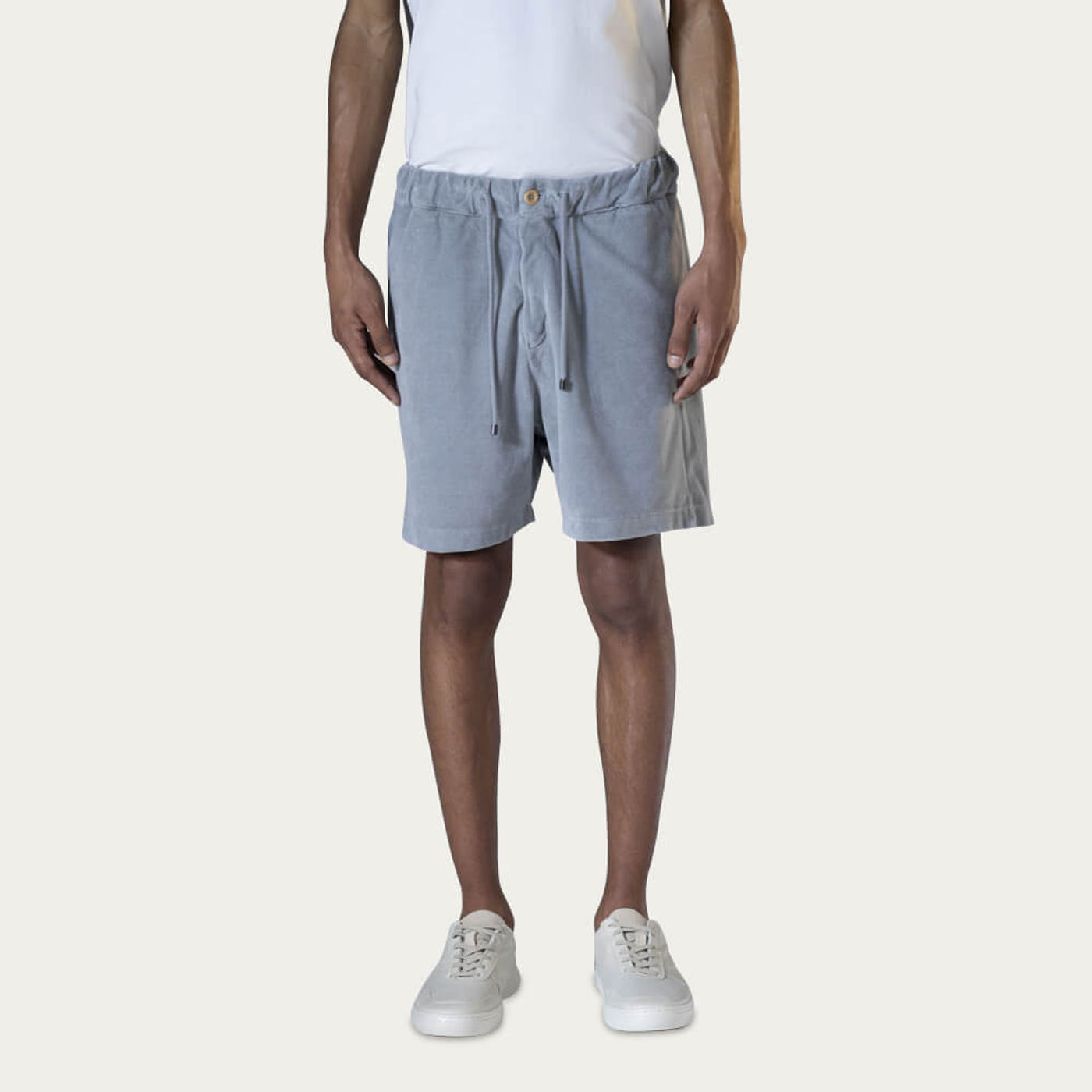 Grey Bermuda Sport Shorts | Bombinate