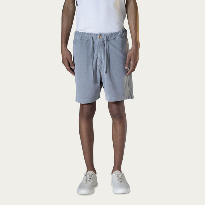Grey Bermuda Sport Shorts | Bombinate