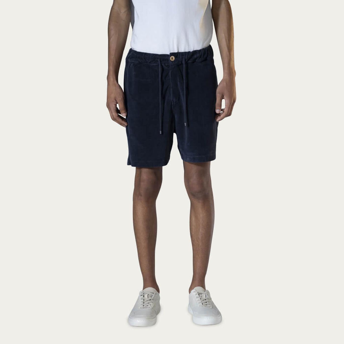 Navy Bermuda Sport Shorts | Bombinate