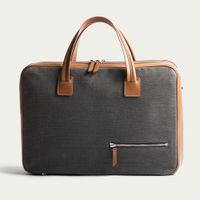Grey & Cognac 36 Hours Bag Conally | Bombinate