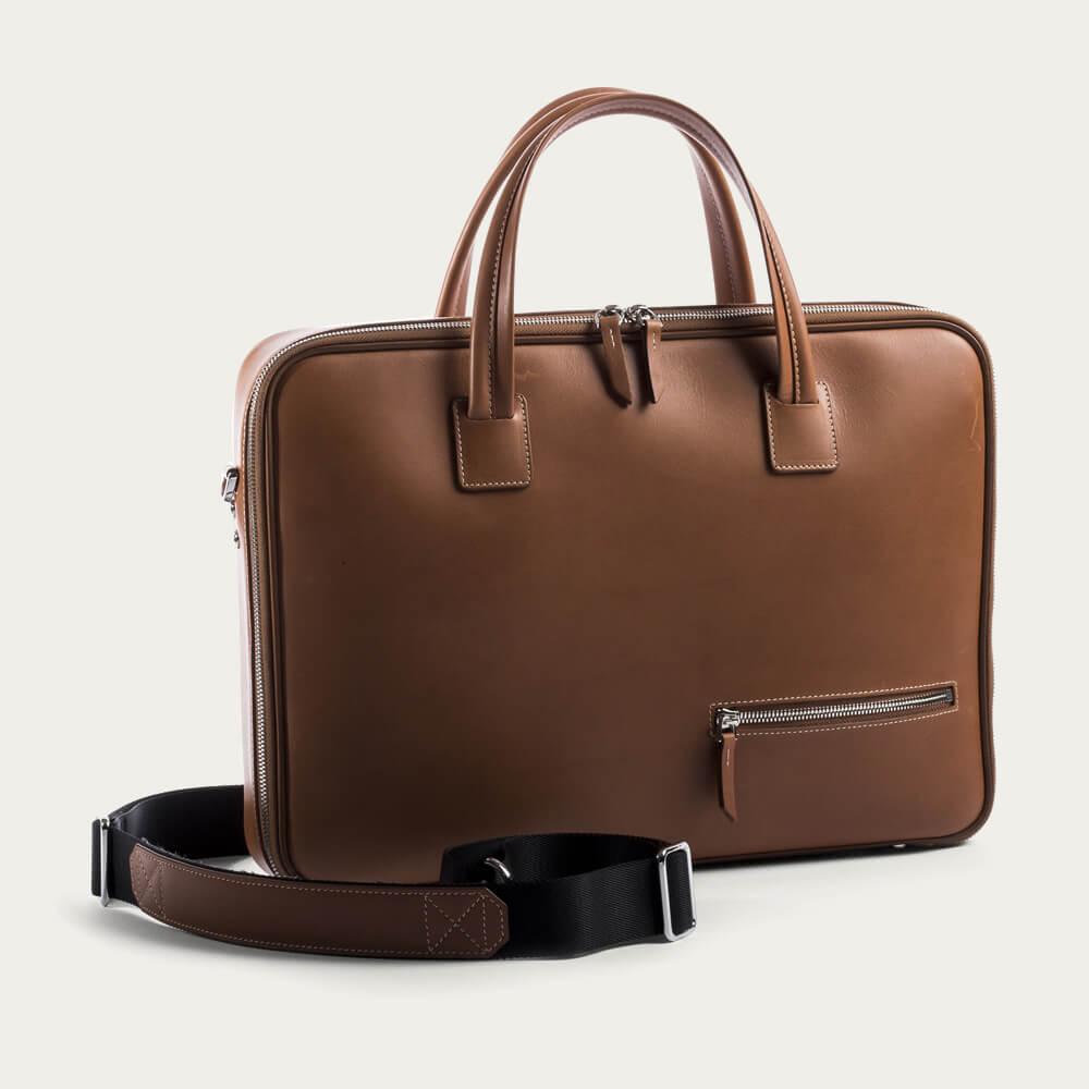 Cognac Day Bag Alessandro | Bombinate