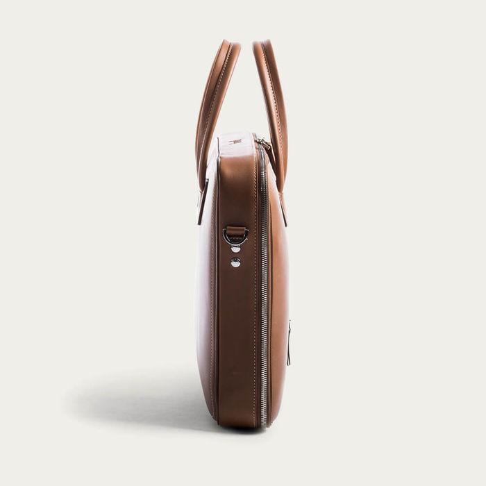 Cognac Day Bag Alessandro   Bombinate
