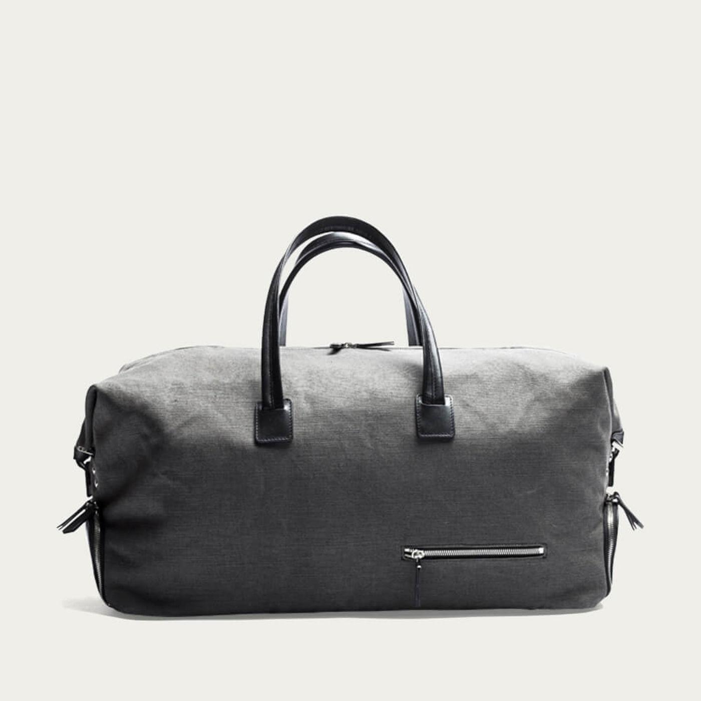 Gray & Black Traveler Bag Remington   Bombinate