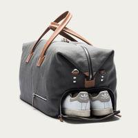 Gray & Cognac Traveler Bag Remington | Bombinate