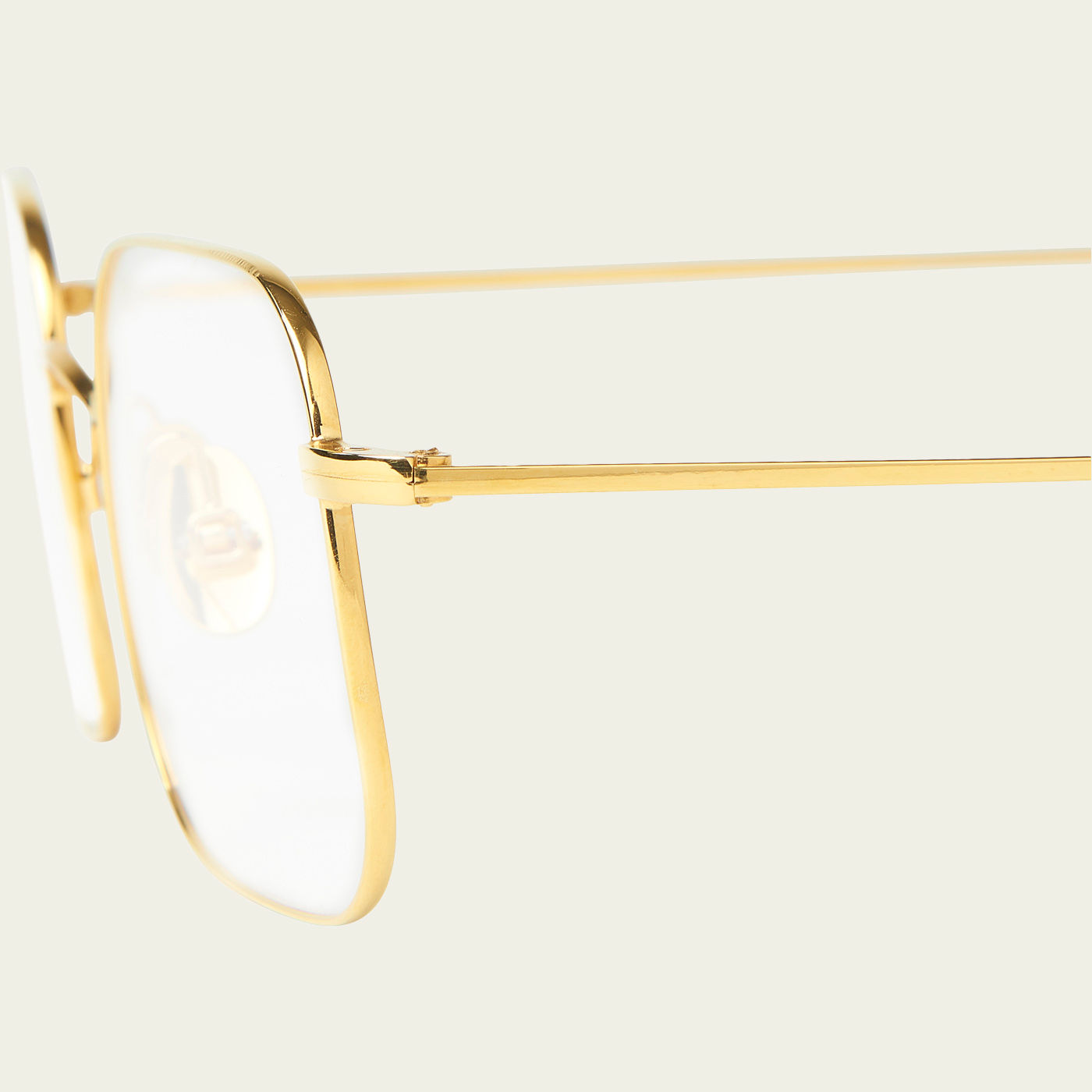 Gold Optical Flare Glasses | Bombinate