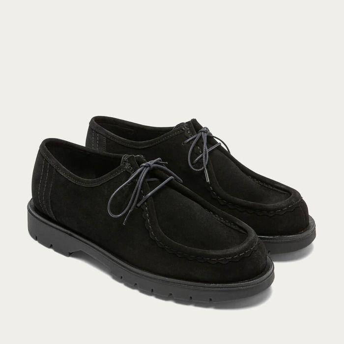 Black Padror VV Leather Derby   Bombinate