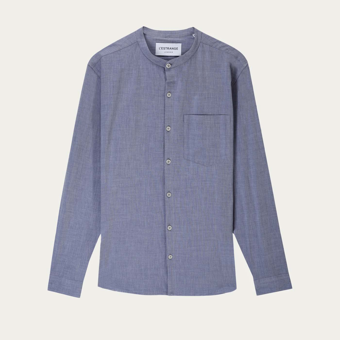 Navy Chambray All Day Shirt  | Bombinate