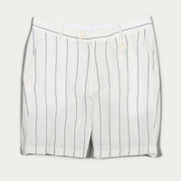 White Stripe Tricker Shorts | Bombinate