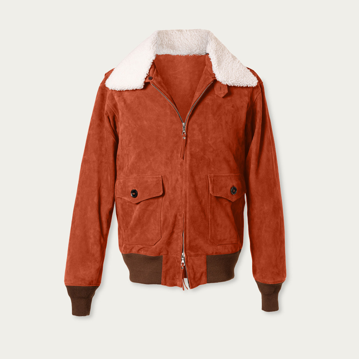 Polo Newman G-1 Suede Bomber Jacket MTO | Bombinate