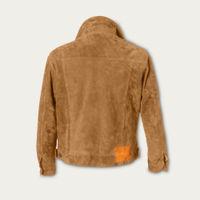 Snuff Presley Trucker Suede Jacket MTO | Bombinate