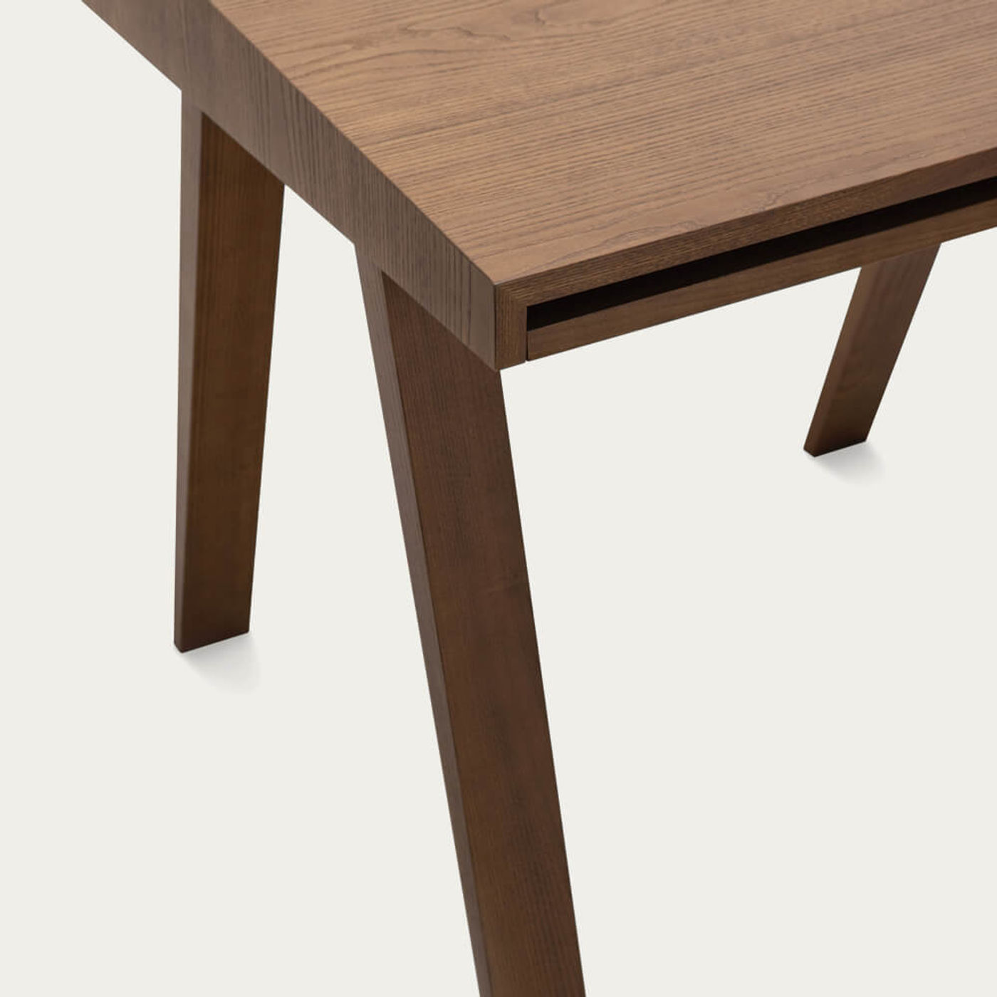 Ash Painted Brown 1 Drawer 4.9 Desk | Bombinate