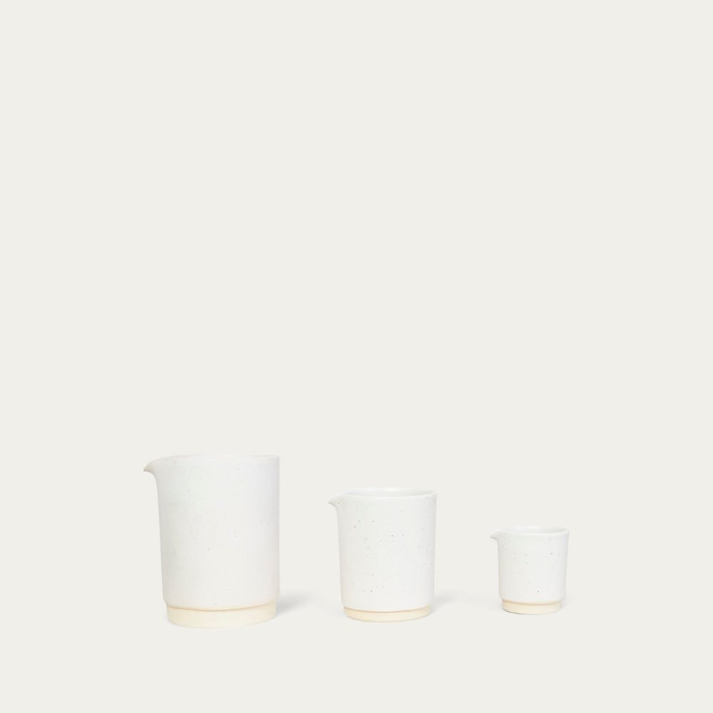 Medium Otto Jug White  | Bombinate