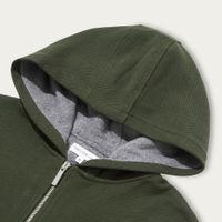 Olive Texture Towel Lined Hood | Bombinate