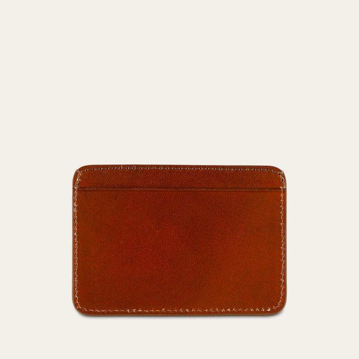 Light Brown Leather Cardholder    Bombinate