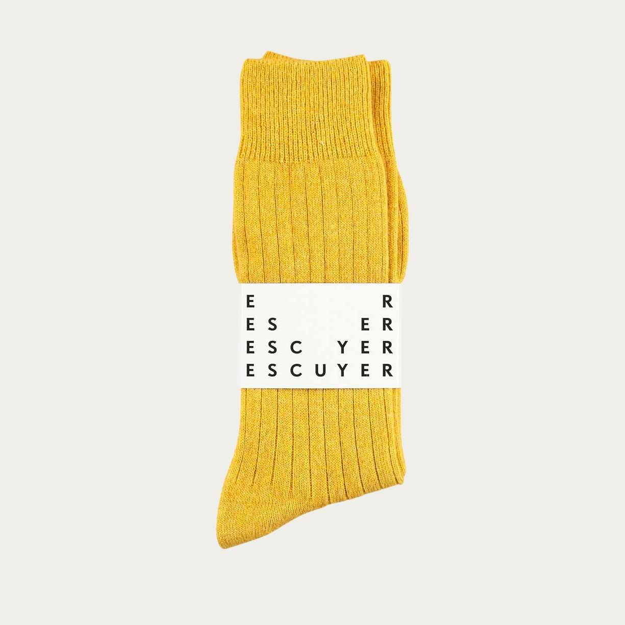 Cashmere Yellow Socks     Bombinate