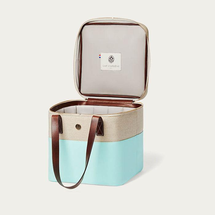 Aqua Picnic Cooler Bag   Bombinate