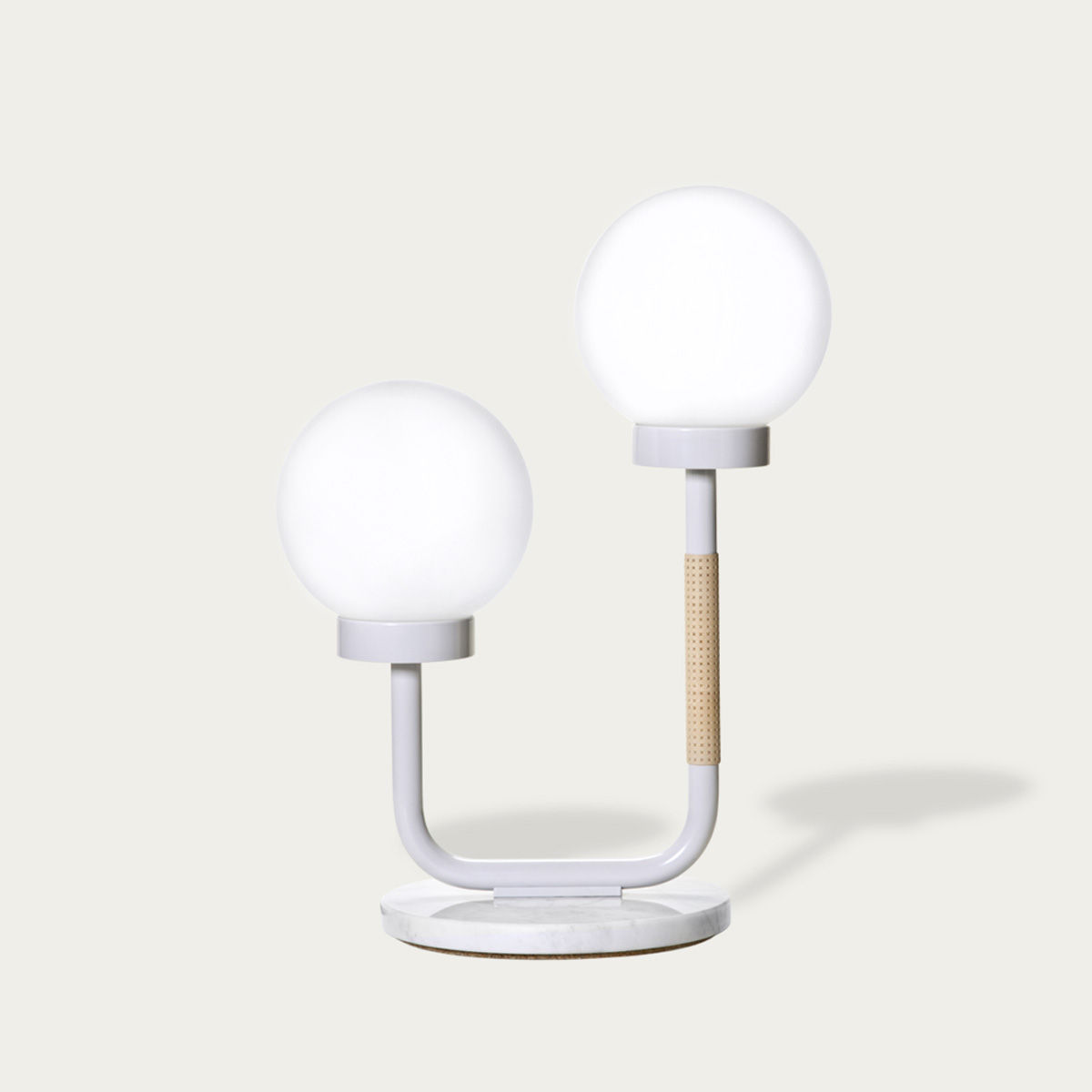 Scandi White Little Darling Table Lamp  | Bombinate