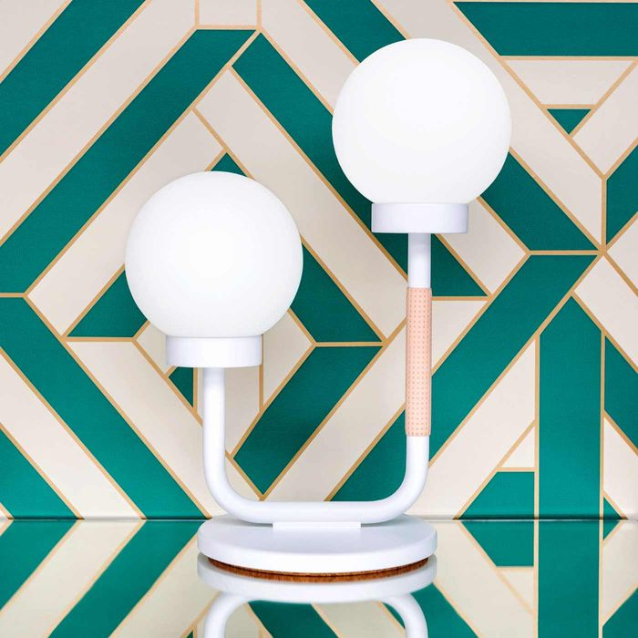 Scandi White Little Darling Table Lamp  | Bombinate