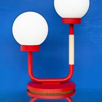Strawberry Red Little Darling Table Lamp    Bombinate