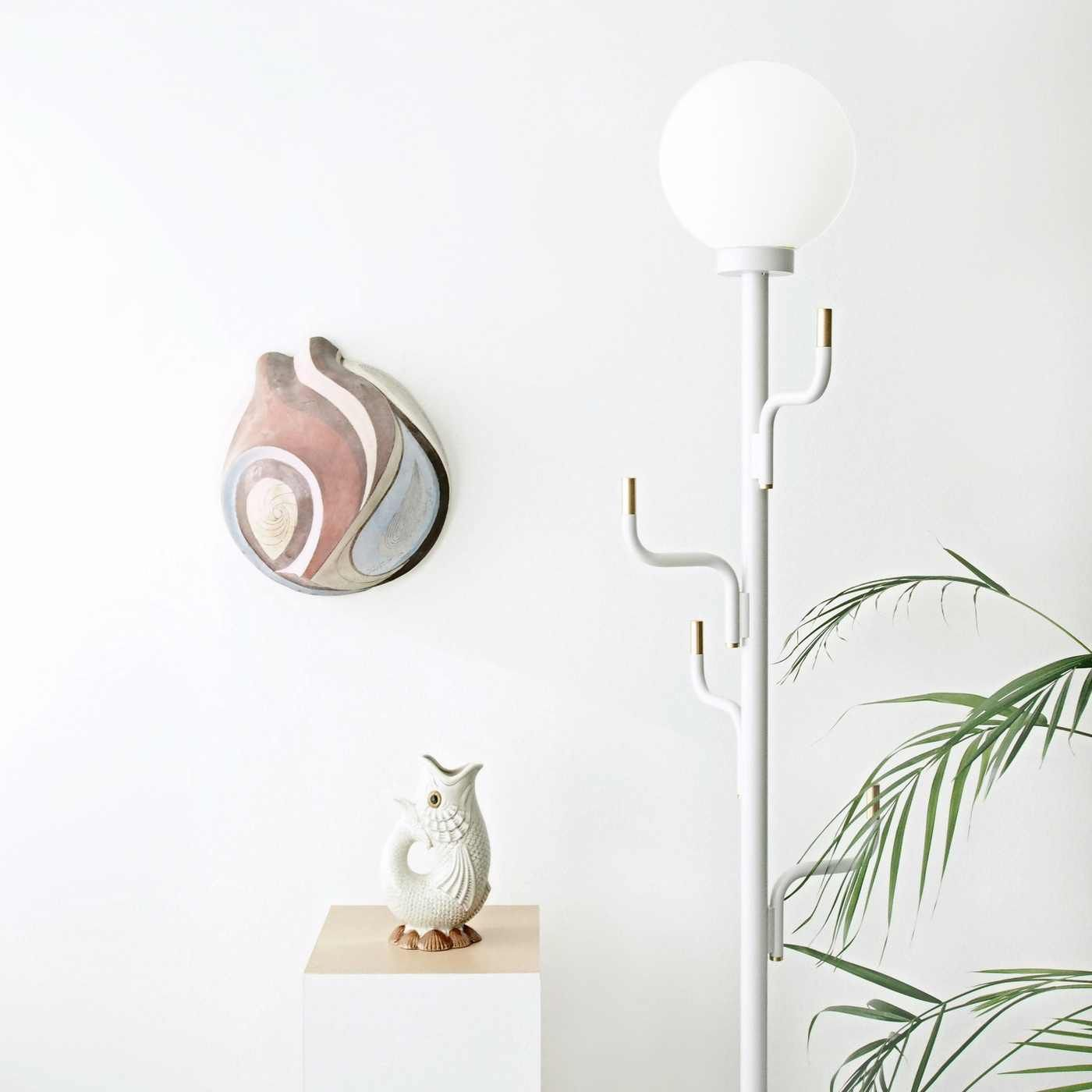 White Big Darling Lamp | Bombinate
