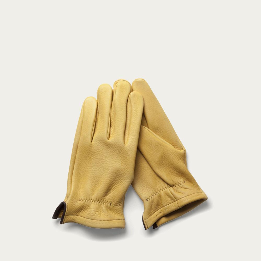 Cream Deerskin Gloves  | Bombinate