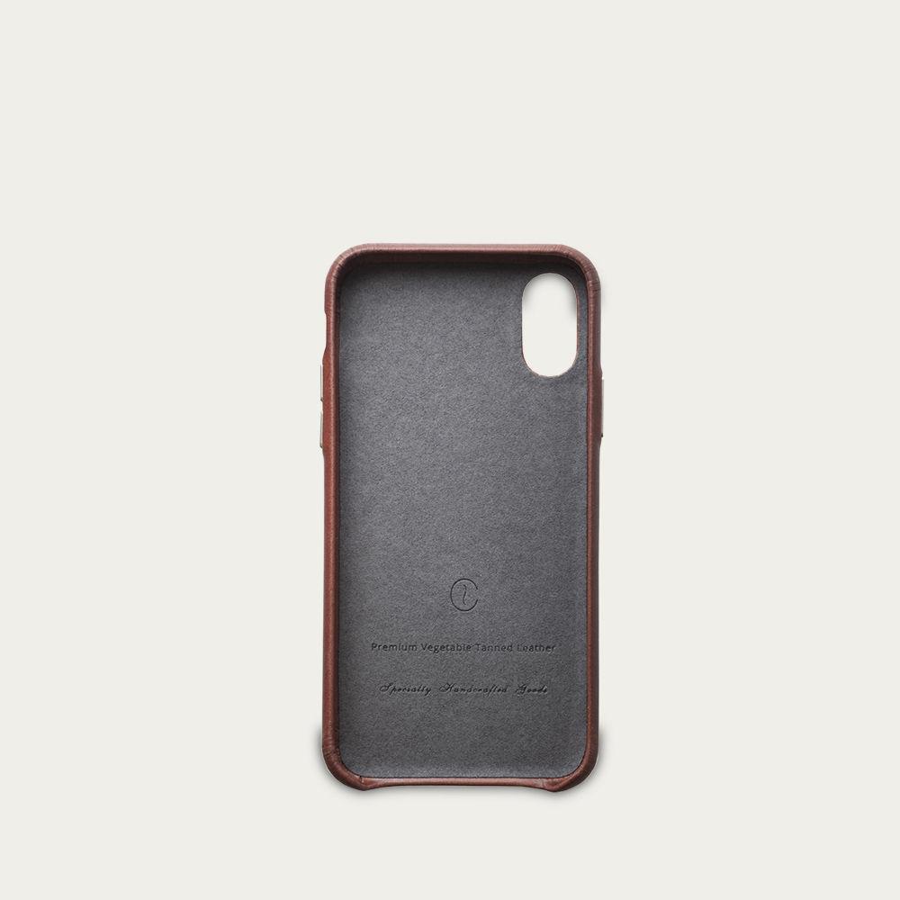 Roasted iPhone X / Xs Leather Case    Bombinate