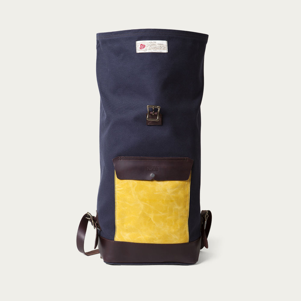 Navy BC Liberica Roll-Top Backpack  | Bombinate