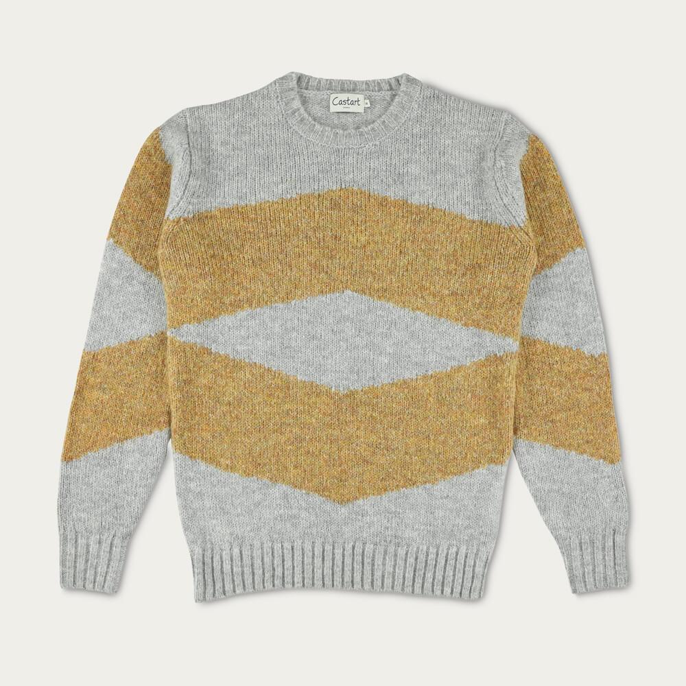 Light Grey Bayer Knitwear | Bombinate