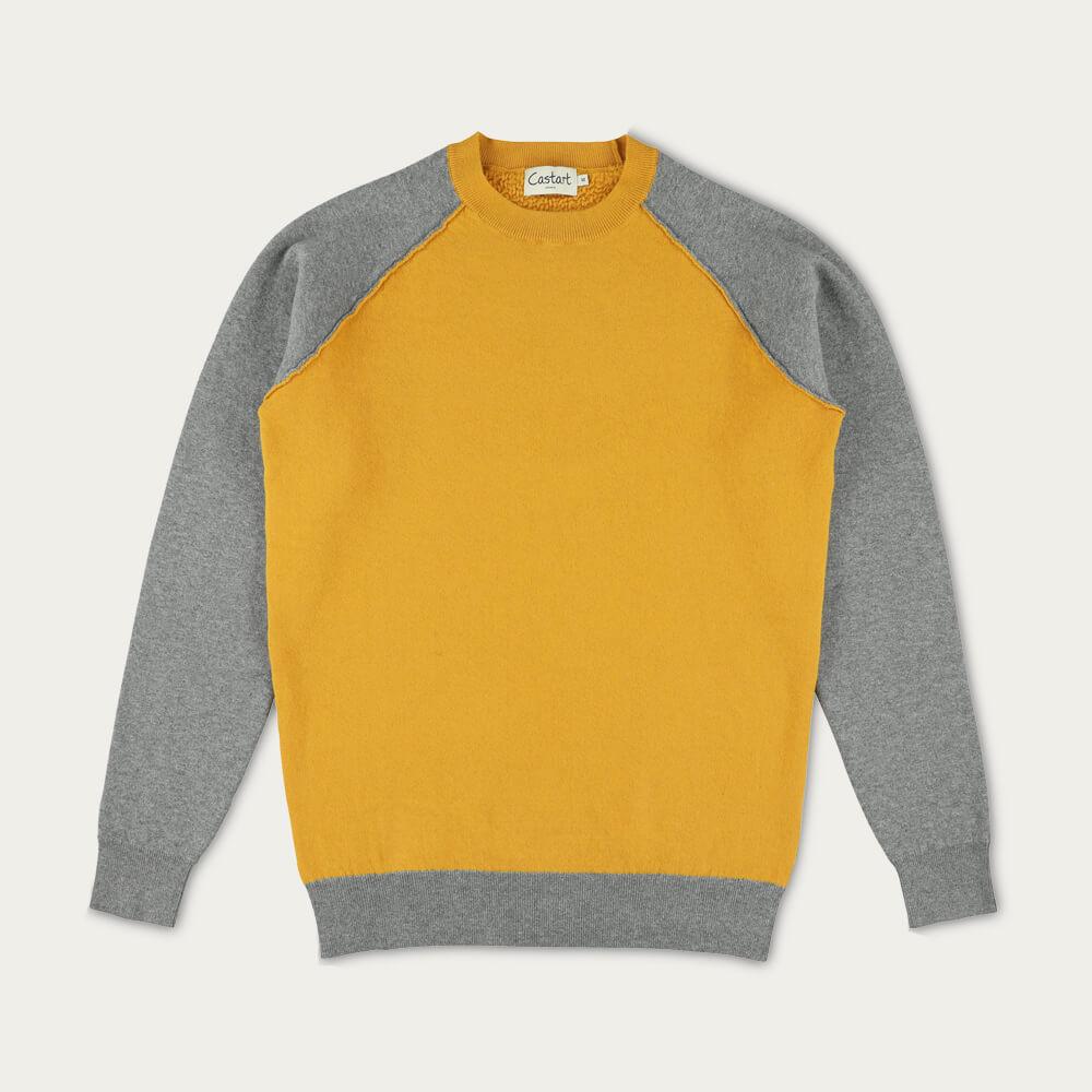 Ocher Yellow Wagenfeld Knitwear | Bombinate