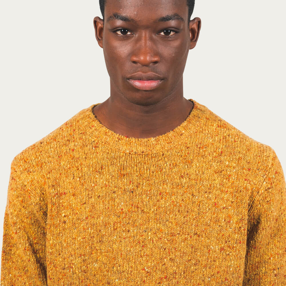 Orcher Yellow Kadinski Knitwear | Bombinate